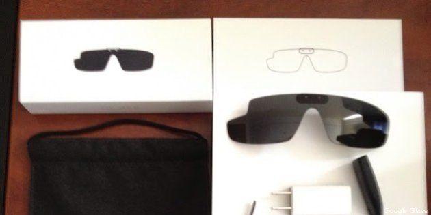 Google Glass: ecco cosa c'è nel pacco degli occhiali del Big G