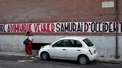 Striscione Casapound: