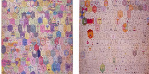 Alighiero Boetti in mostra al Maxxi a Roma: quando l'artista riscoprì il colore