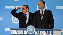 Il giorno in cui Berlusconi ha scaricato Alfano e il