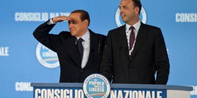 Silvio Berlusconi lascia Pdl e Alfano: