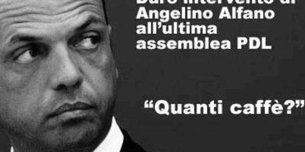 Primarie Pdl e Silvio Berlusconi: l'ironia della rete su Angelino Alfano