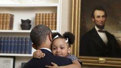 Tutti gli abbracci di Barack