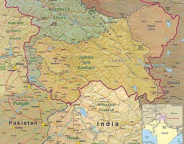 India al Kashmir: