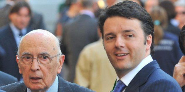 Giorgio Napolitano a Firenze per il congresso dell'Anci: