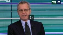 Mentana critica Giovanni Toti: