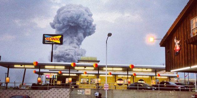Stati Uniti: esplode fabbrica di fertilizzanti in Texas, è strage (FOTO,