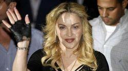 Madonna, il suo arrivo in palestra a Roma