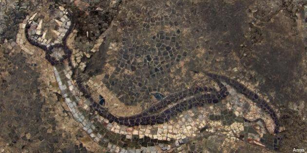 Archeologia, il più grande mosaico della Magna Grecia è in Calabria. Scoperto dopo 15 anni di scavi