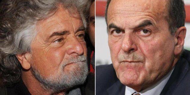Sondaggio Swg: sette italiani su dieci vogliono l'alleanza tra Grillo e Bersani