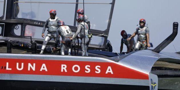 Vela, Louis Vuitton Cup: Luna Rossa ko, Emirates Team New Zealand avanti
