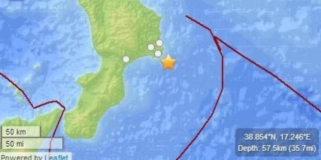 Terremoto a Catanzaro, forte scossa avvertita anche a Reggio