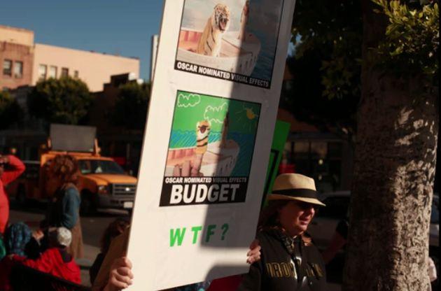 Vita di Pi incassa mezzo miliardo mentre la compagnia degli effetti speciali va in bancarotta, la protesta...