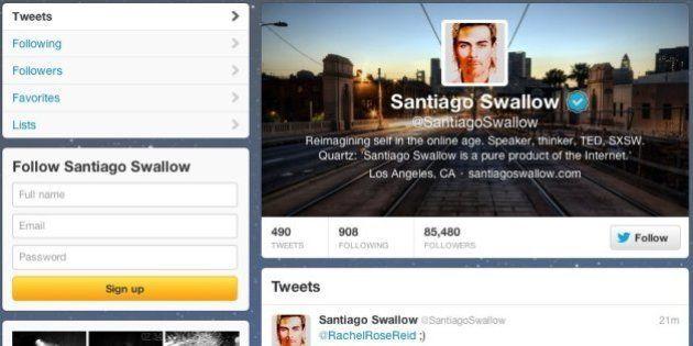 Su Twitter è il più influente speaker e pensatore di Ted, con 85mila followers. Chi è veramente Santiago