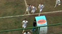 Sputa ai tifosi avversari: daspo al capitano della Salernitana Francesco