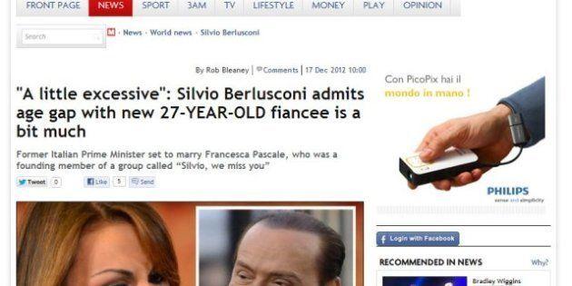 Francesca Pascale, la nuova fidanzata di Silvio Berlusconi sui siti stranieri