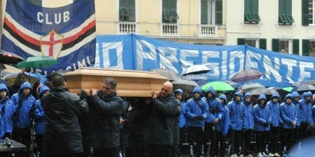 Genova saluta Riccardo Garrone, migliaia di persone hanno partecipato al funerale del presidente della...