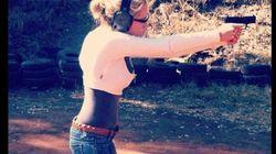 Anche Reeva aveva la passione per le armi
