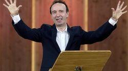 Silvio Berlusconi sfida Roberto Benigni in