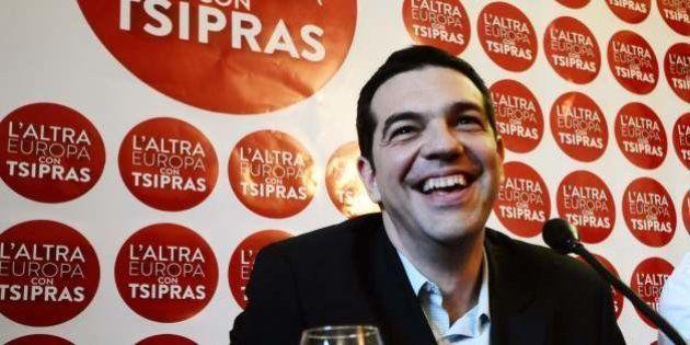 Alexis Tsipras a In Mezz'Ora: