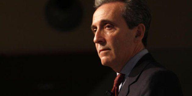 Mps, Vittorio Grilli scarica la Banca d'Italia: