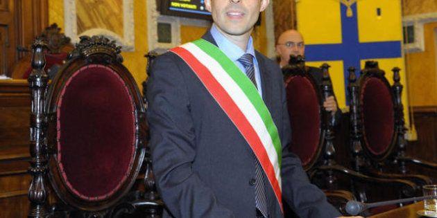 Elezioni 2013: il sindaco di Parma Federico Pizzarotti ospite di Lucia Annunziata a in 1/2 ora