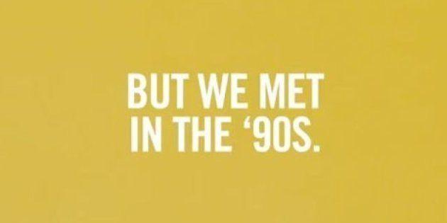 Gli anni 90 in uno spot, indovinate chi guarda al passato