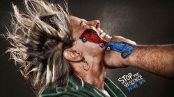 Un pugno alla guida pericolosa: la campagna contro gli spericolati della strada