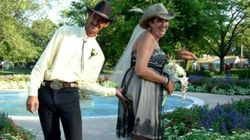 L'arrivo della sposa più trash di sempre (VIDEO,