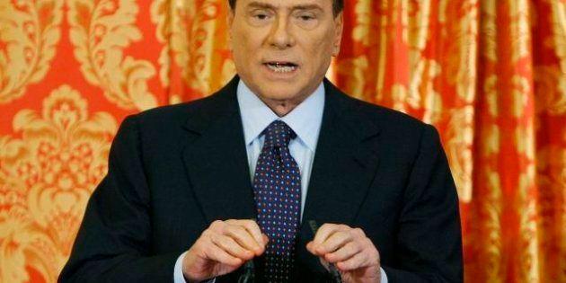 Silvio Berlusconi in conferenza stampa: