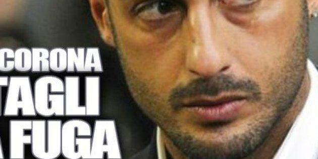 Fabrizio Corona: in un messaggio audio spiega i motivi dalla fuga (FOTO,
