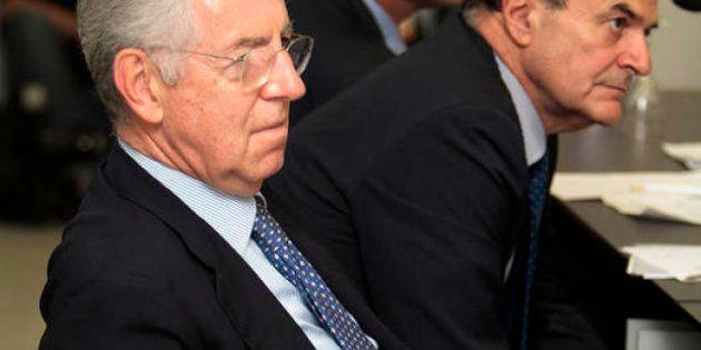 Elezioni 2013, Monti: Bersani non spaventi i mercati sui conti. E il leader Pd risponde: dopo le elezioni...