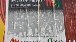 Marcia su Roma, aggrediti i relatori del convegno di