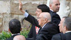 Giorgio Napolitano e Matteo Renzi come Coppi e Bartali: colloquio a Firenze ma resta il