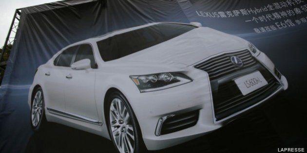 Lexus al Salone dell'auto di Shanghai con tredici