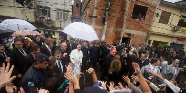 Gmg, il testo del discorso di Papa Francesco alla favela di