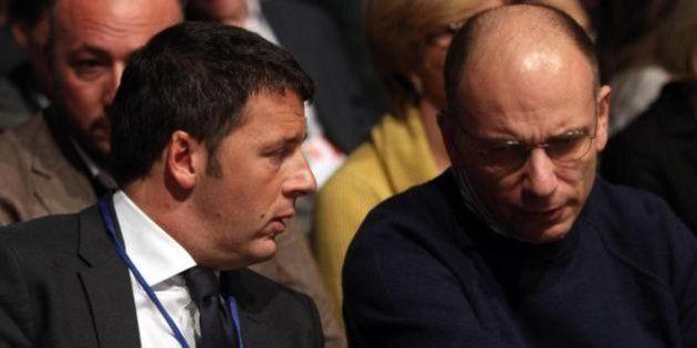 Matteo Renzi registra l'assenza di Letta in direzione e sente puzza di bruciato: ora chiarimento