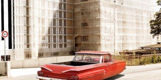 Le auto volanti di Renaud Marion, modelli vintage per sognare il futuro
