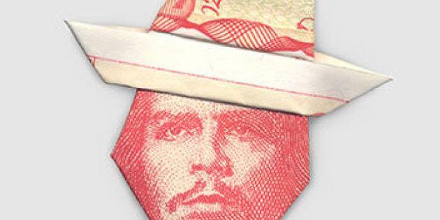 La regina Elisabetta ha il turbante: i moneygami di Yosuke Hasegawa (FOTO,