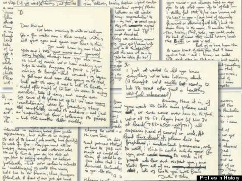 Profiles in History, le lettere all'asta: da Vincent van Gogh a Marilyn Monroe