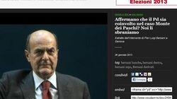 Monti batte in ritirata sul caso Mps, Bersani mostra i muscoli pensando a Palazzo Chigi ma non programma leggi ad