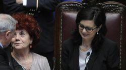 Quirinal look, al terzo giorno Laura Boldrini al rosso al nero