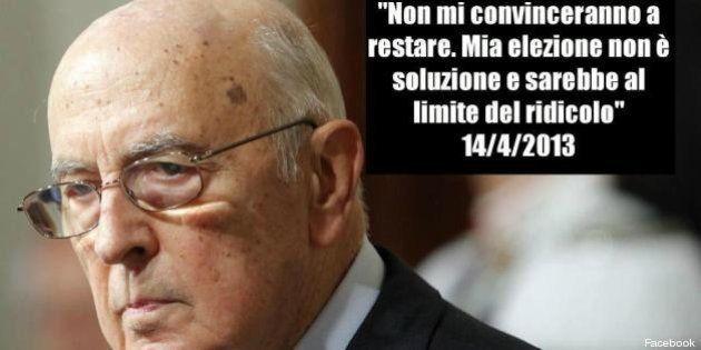 Napolitano bis, l'ironia sul web. E su Twitter sale l'hastag #Clio: