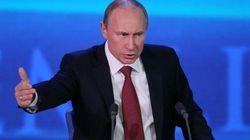 Putin in conferenza stampa: