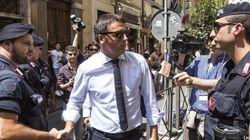 Enrico Letta e Matteo Renzi alla direzione del Pd