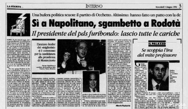 Quirinale 2013: la lotta tra Stefano Rodotà e Giorgio Napolitano...ma era il