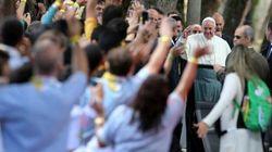 Papa Francesco come un semplice