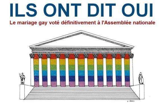 Nozze gay in Francia: il primo matrimonio è tra Bruno e Vincent,