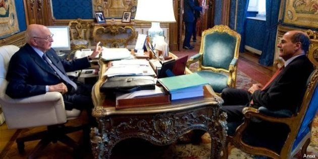 Governo, Napolitano vuole disponibilità senza condizioni su un programma di salvezza. L'ansia del Pd...