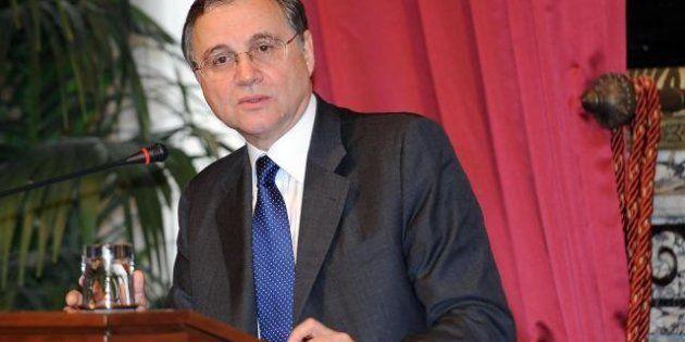 Il governatore della banca d'Italia Ignazio Visco: